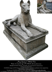 Dog Statue PNG