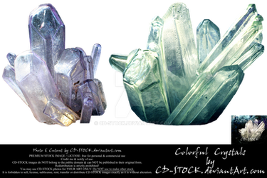 Colorful Crystals by CD-STOCK Premium Stock
