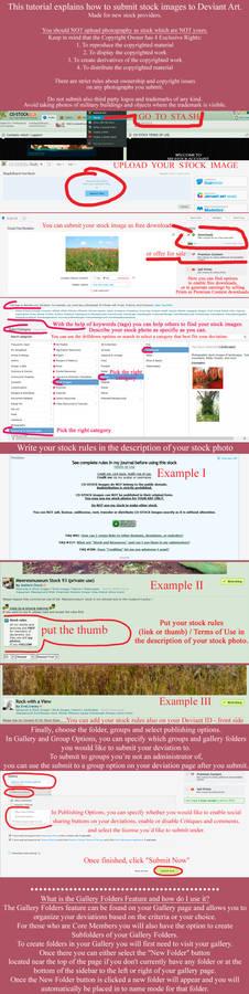 How to submit stock photos to DeviantArt