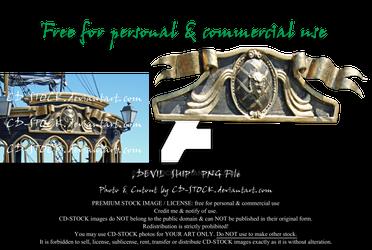 Devil Ship PNG by CD-STOCK Premium Stock