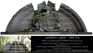 Knight's Gate PNG Preview by CD-STOCK