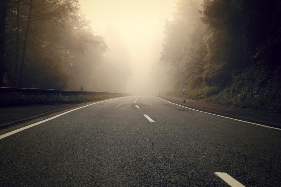 Foggy Road by CD-STOCK by CD-STOCK