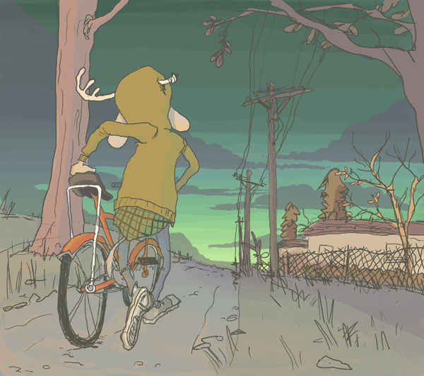 Bike Pushing Time by repoghost