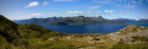 Blue Fjord by Pinho