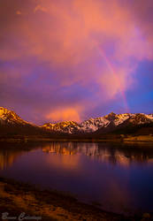Nocturnal Rainbow by Pinho
