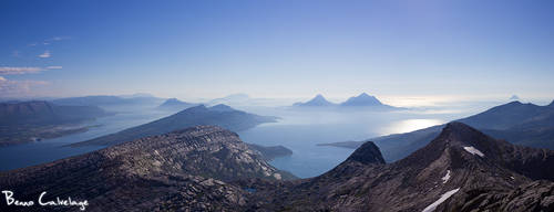 Hazy Islands by Pinho