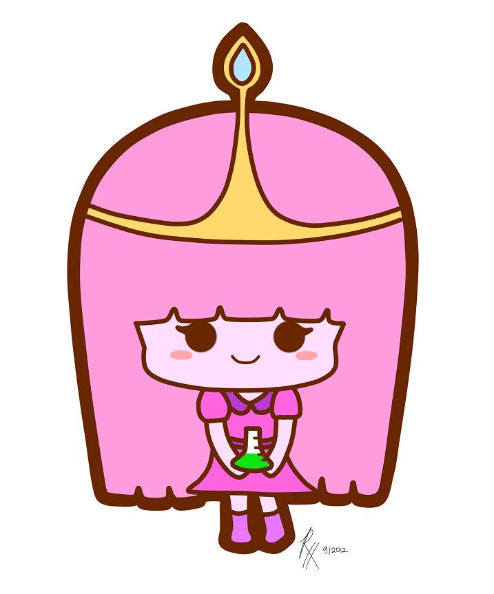 chibi princess bubblegum by roleholder