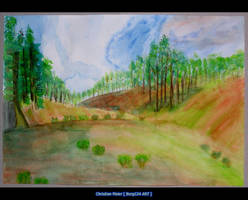Landscape - Nature - Aquarell