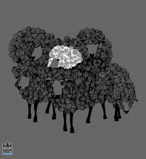 White Sheep design