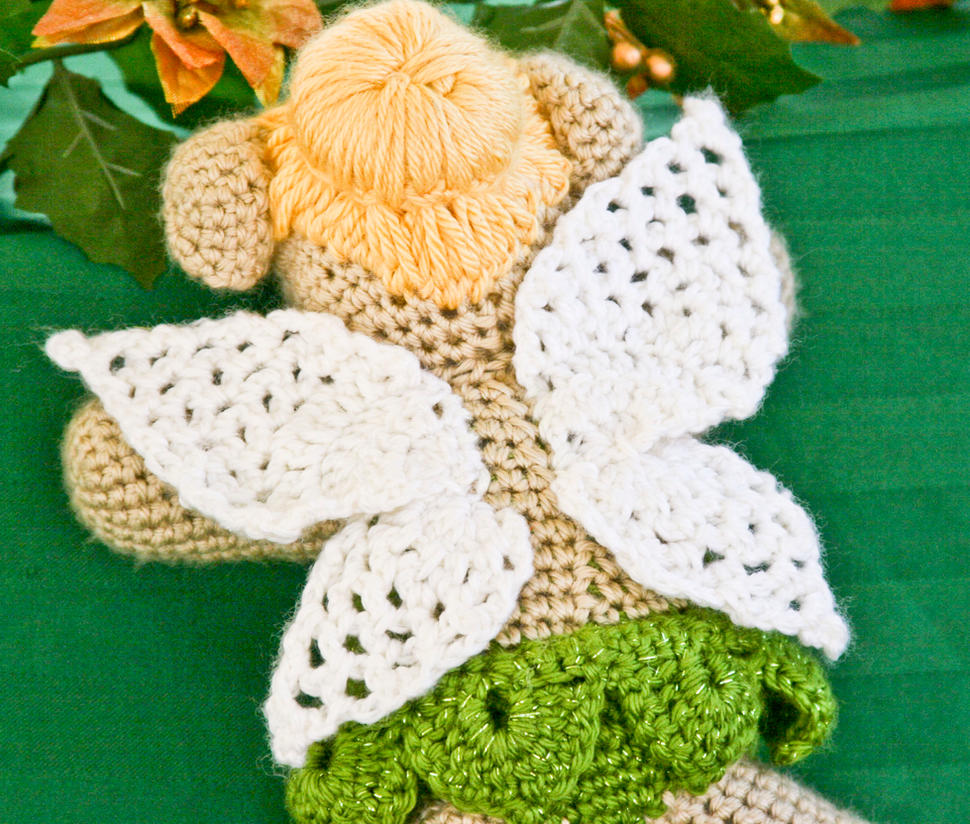 Amigurumi Dragon Wings Pattern : Crochet Fairy Bears Wings by fairytalestitches on DeviantArt
