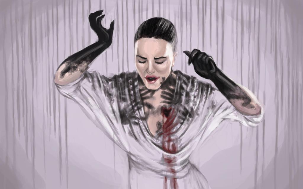 Demi Lovato Wallpaper Heart Attack