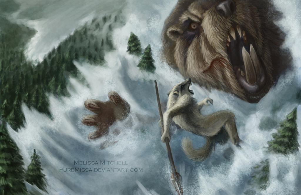 Battle of the Moster Beaver by PureMissa