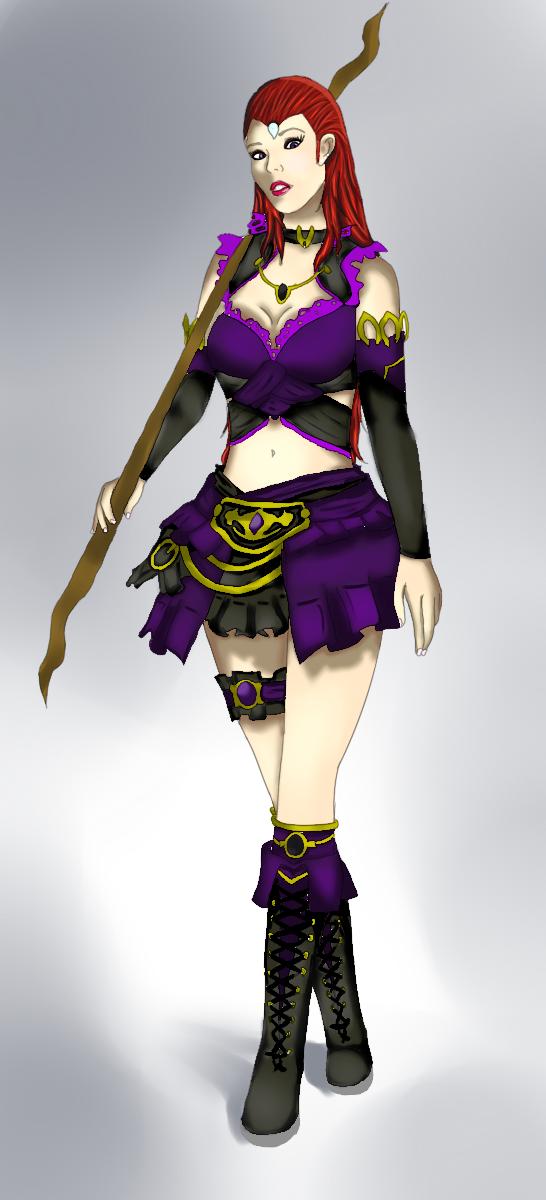 Guild Wars 2 Elementalist by IdentifiedAnonymous on DeviantArt