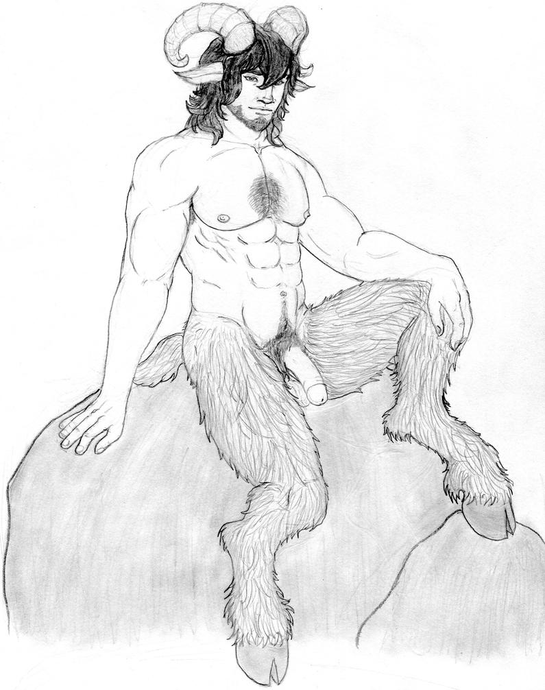 Emmet the satyr by hdhcentuarlord