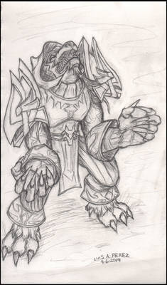 World of Warcraft Worgen Druid. Darkmeats
