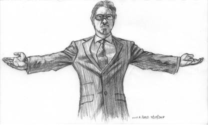Fashion 2000+ to present - Tony Stark by luisperezart