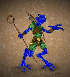 Character 88 - Ungus Splitlick by luisperezart