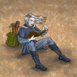Character 89 - Brogru by luisperezart