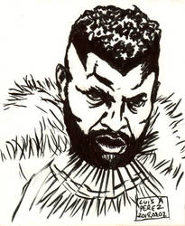 M'Baku - Daily Drawing 2018 QUICKIE!