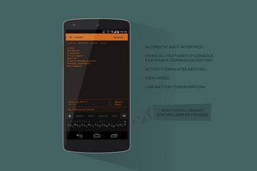 Nexus 5 Google Music ASCII Console by virgil175