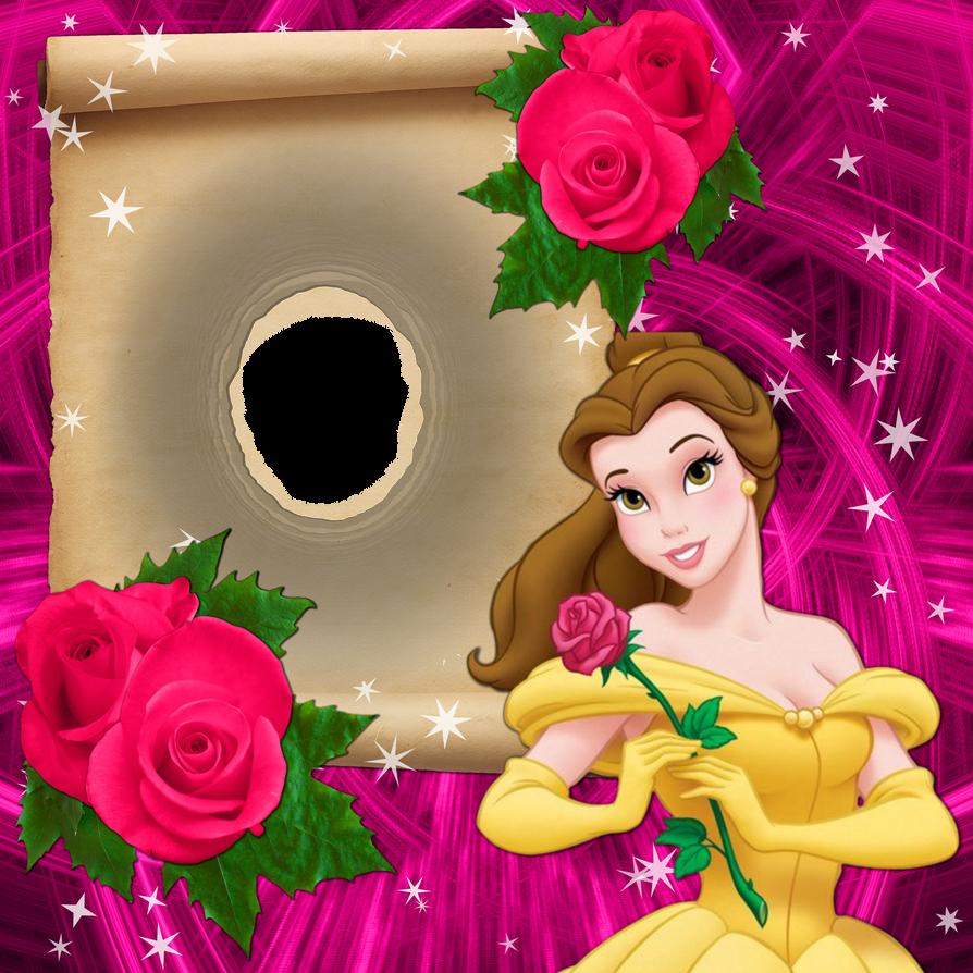 Disney Snow White Frame Border PNG