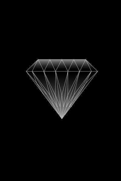 Diamond Iphone 4 Wallpaper By Angelocastellano