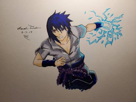 Sasuke Uchiha( YouTube video in desc.)