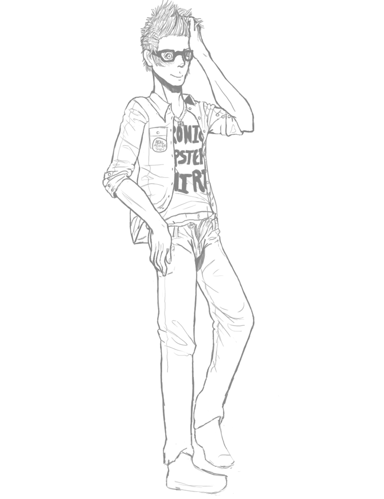 Hipster WIP By Thunderbutt31