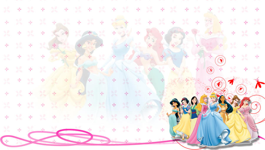 Disney Princess Background by 95MCOvercomer on DeviantArt