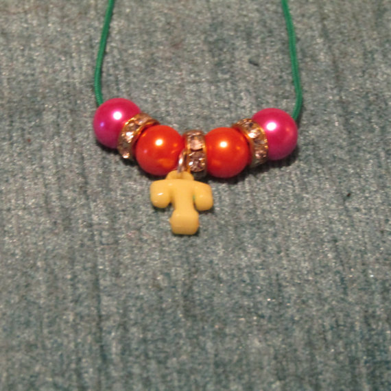 children s t initial necklace by artisticdreamer85 on
