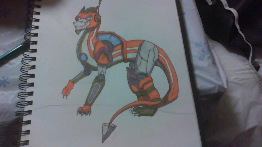 upright rung dragon by ilovemy3cats