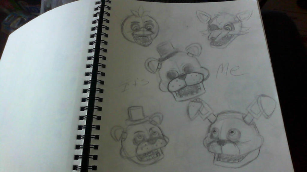 FNAF 1 WIP by ilovemy3cats