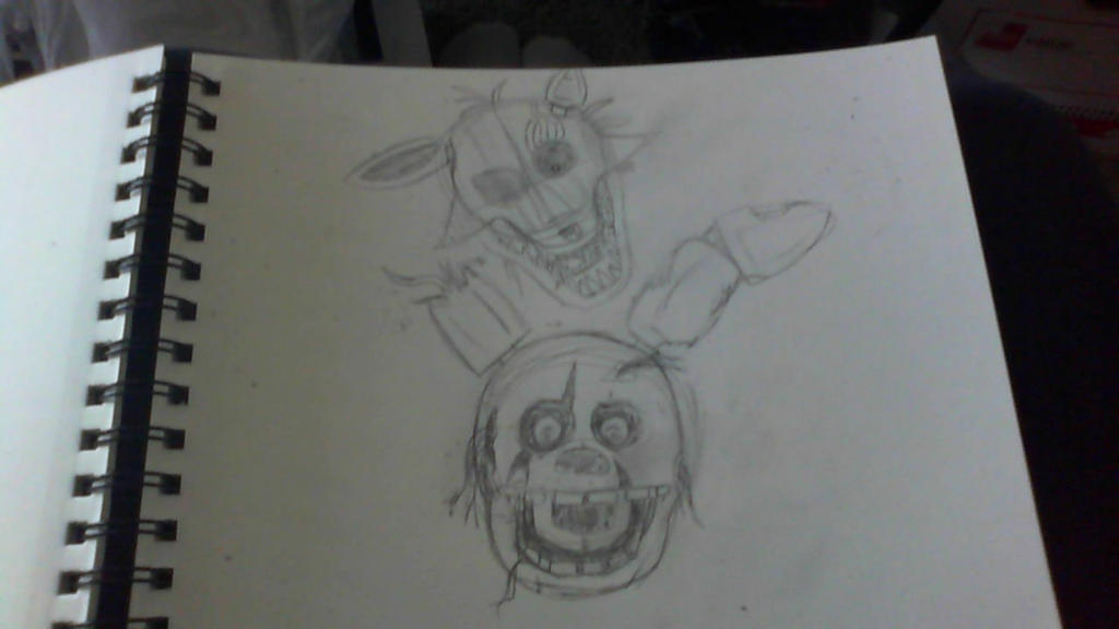 FNAF 3 WIP by ilovemy3cats