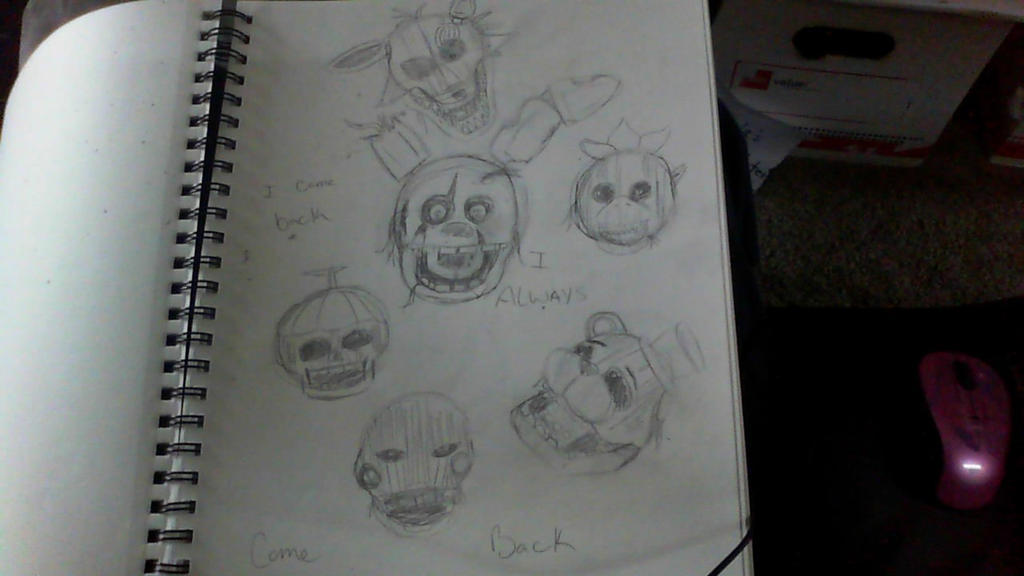 Wip fnaf 3 by ilovemy3cats