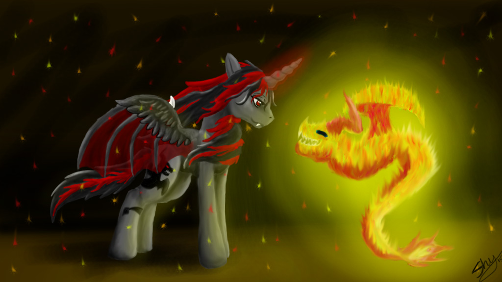Dragon Spirit by ilovemy3cats
