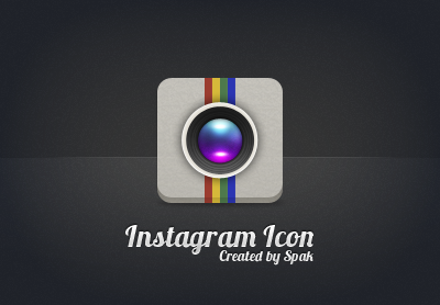 Instagram Icon by OmarMootamri