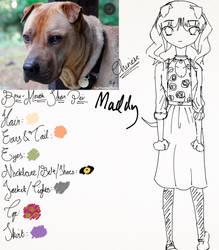 Maddy the Bone-Mouth Shar Pei