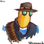Heavy the birdhead detective