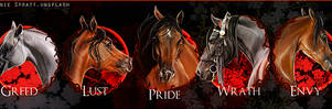 The Seven Sins, Stable Banner