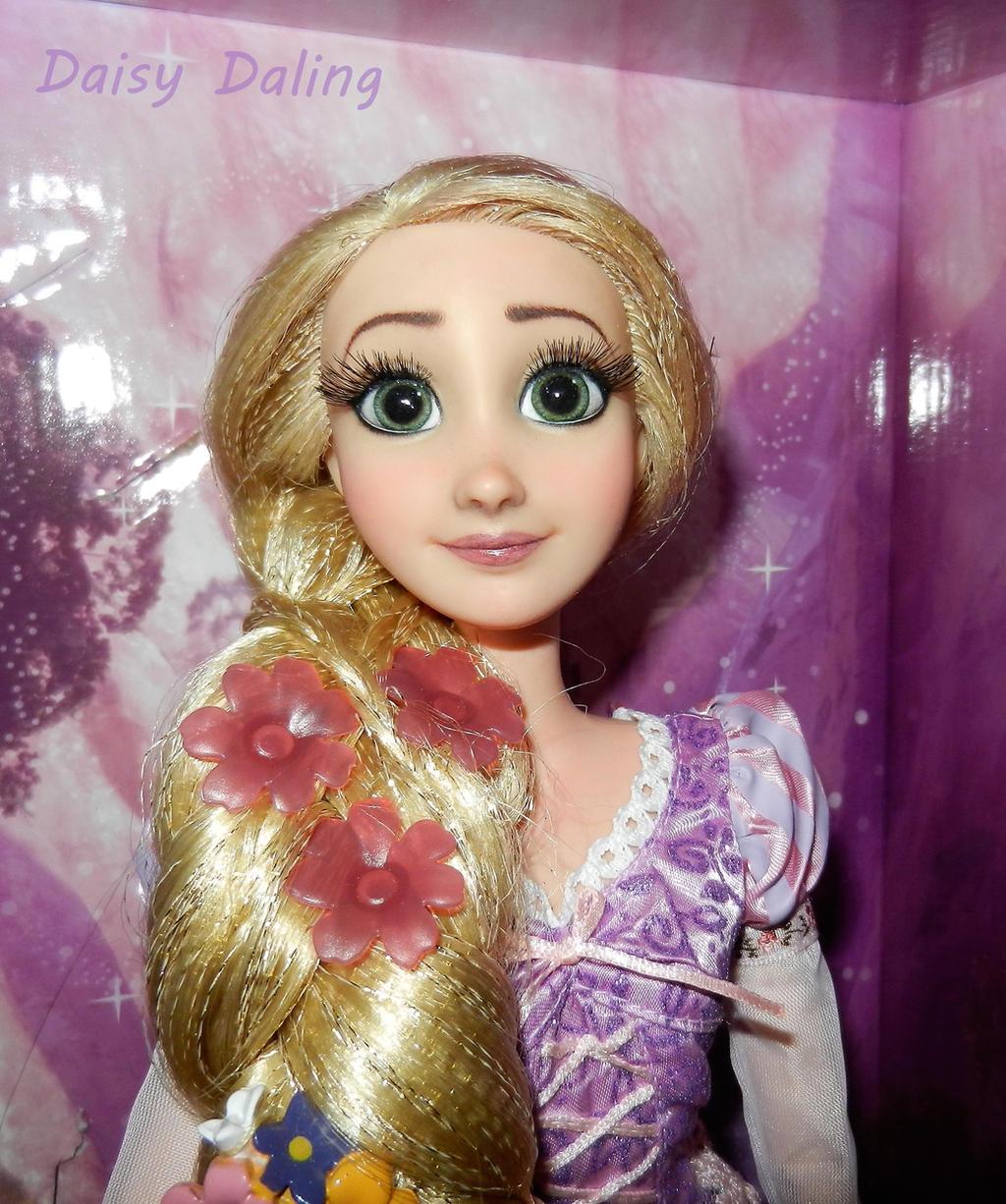 Disney S Tangled Rapunzel Ooak Doll Repaint By Daisydaling