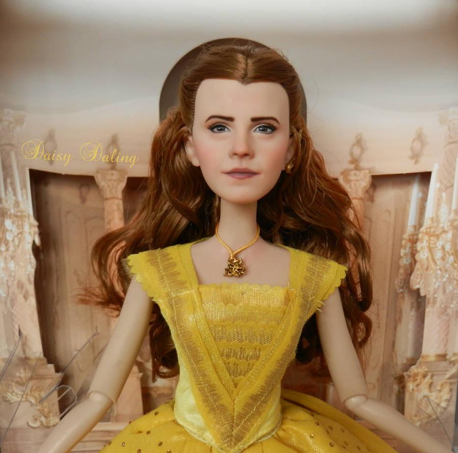Disney's BatB Belle Emma Watson Ooak Doll Repaint