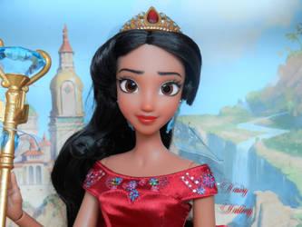 Disney's Elena of Avalor OOAK Doll Repaint