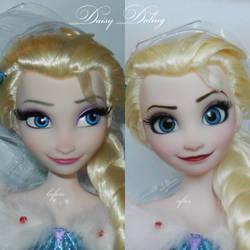Disney's OFA Elsa OOAK Doll Repaint