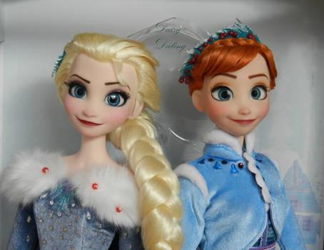 Disney's OFA Anna and Elsa OOAK Doll Repaints