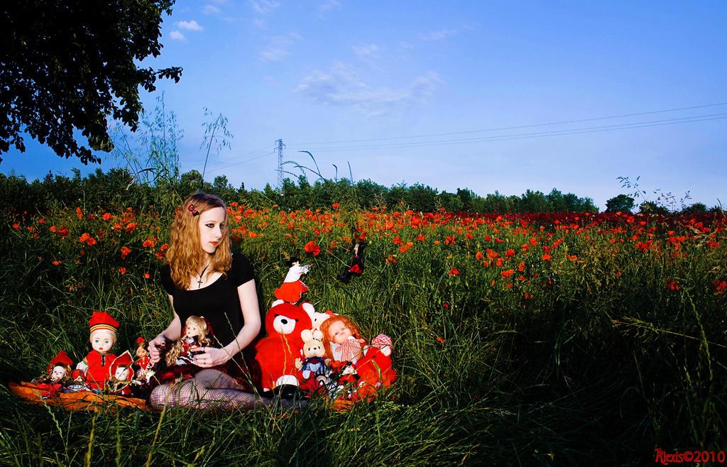 Red Carpet Dolls by AlexisPhotoart