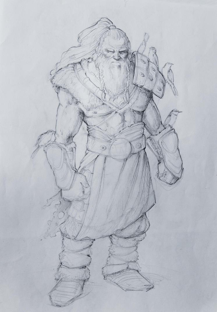 Vainamoinen by MartaNael