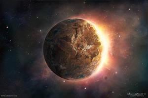 Earth Matte by MartaNael