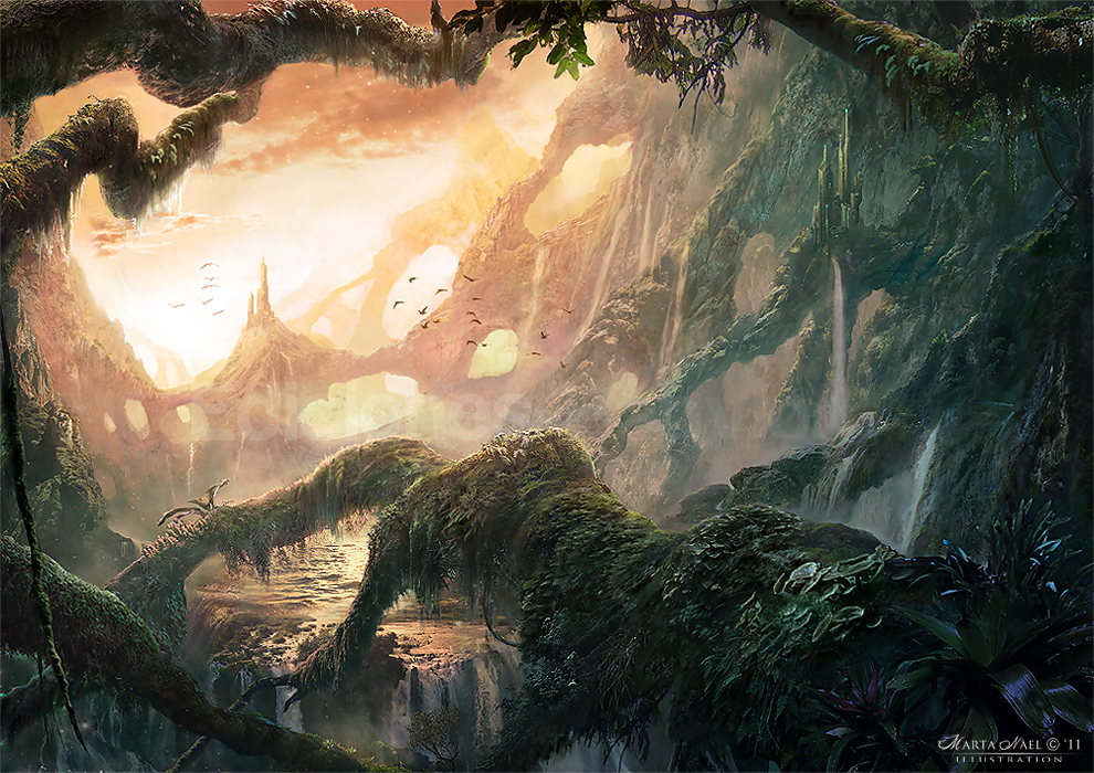Roots Landscape By Martanael On Deviantart