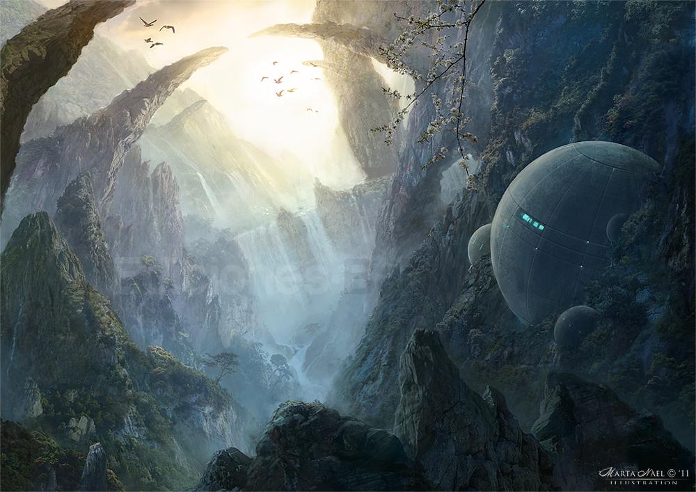 Rocks Paradise by MartaNael