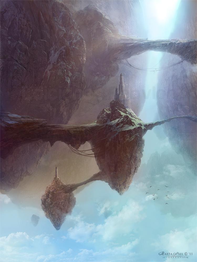 Floating Rocks by MartaNael